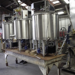 Stainless Steel Vats - Assembly Services - Iowa