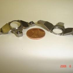 Machining Services - Steel Mirror Mount - Iowa