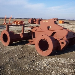 Landfill Compactor Welding Services - Iowa