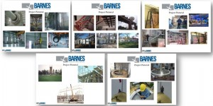 Barnes projects over the years