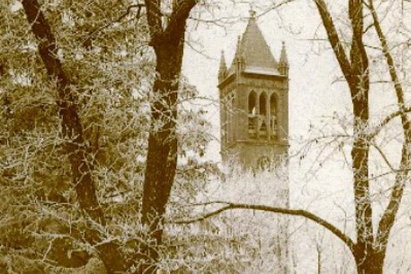 ISU Campanile circa 1930