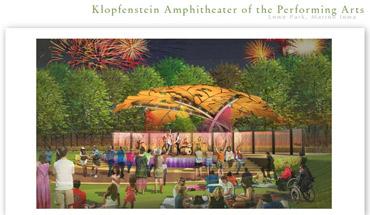 RGB artist concept for Lowe Park Amphitheater
