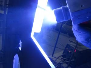 Thermal zinc metalizing
